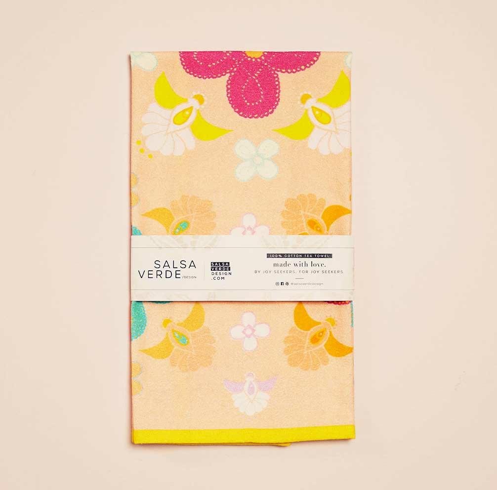 Jali Tea Towel   Trada Marketplace