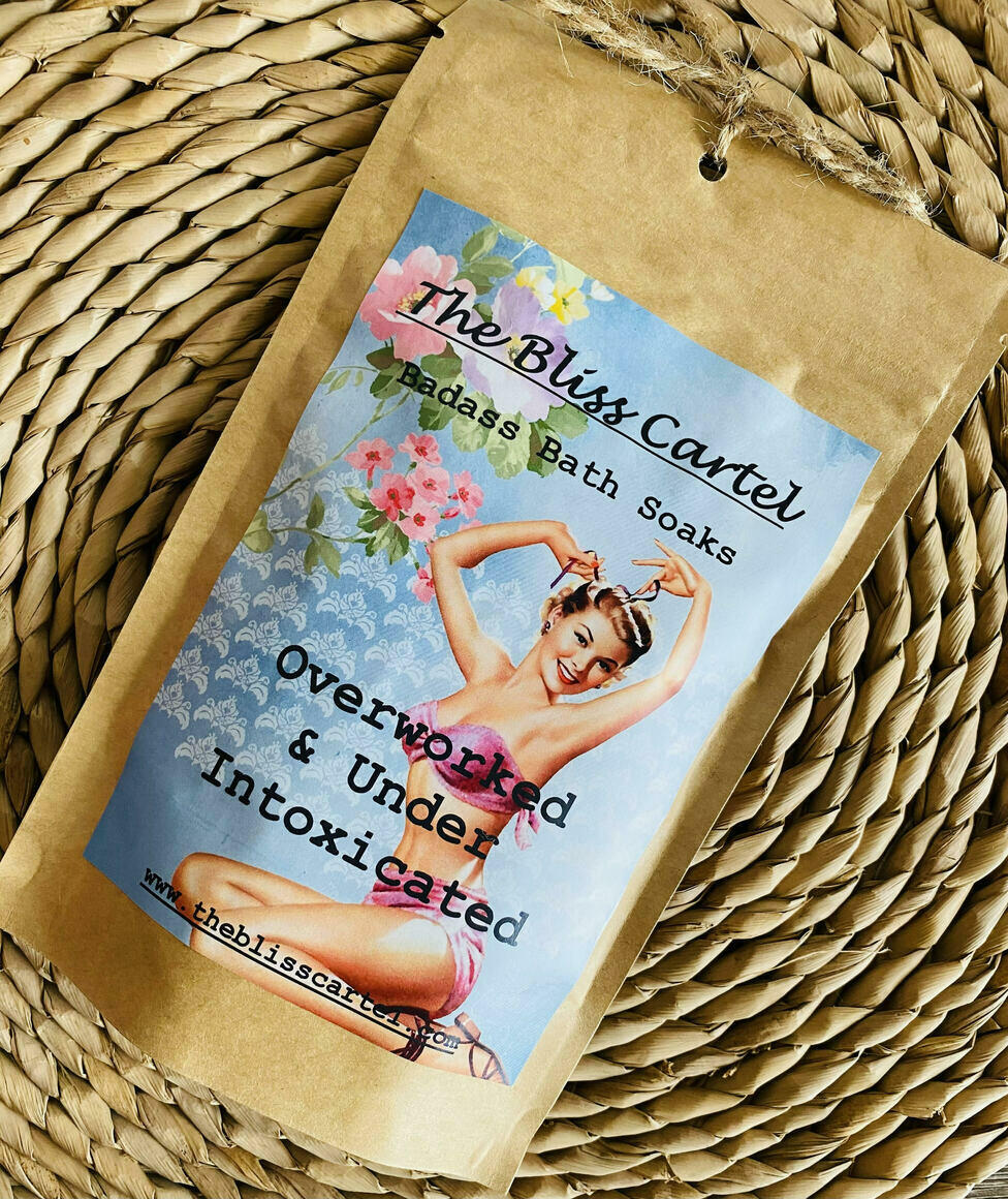 Over worked & Under Intoxicated Bath Soak | Trada Marketplace