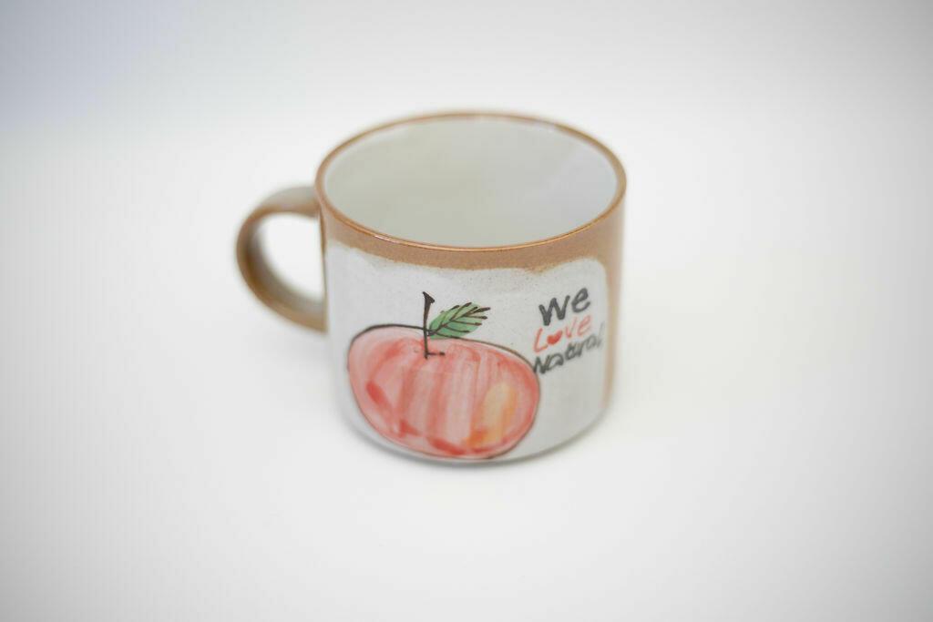 We Love Natural Mug-Apple   Trada Marketplace