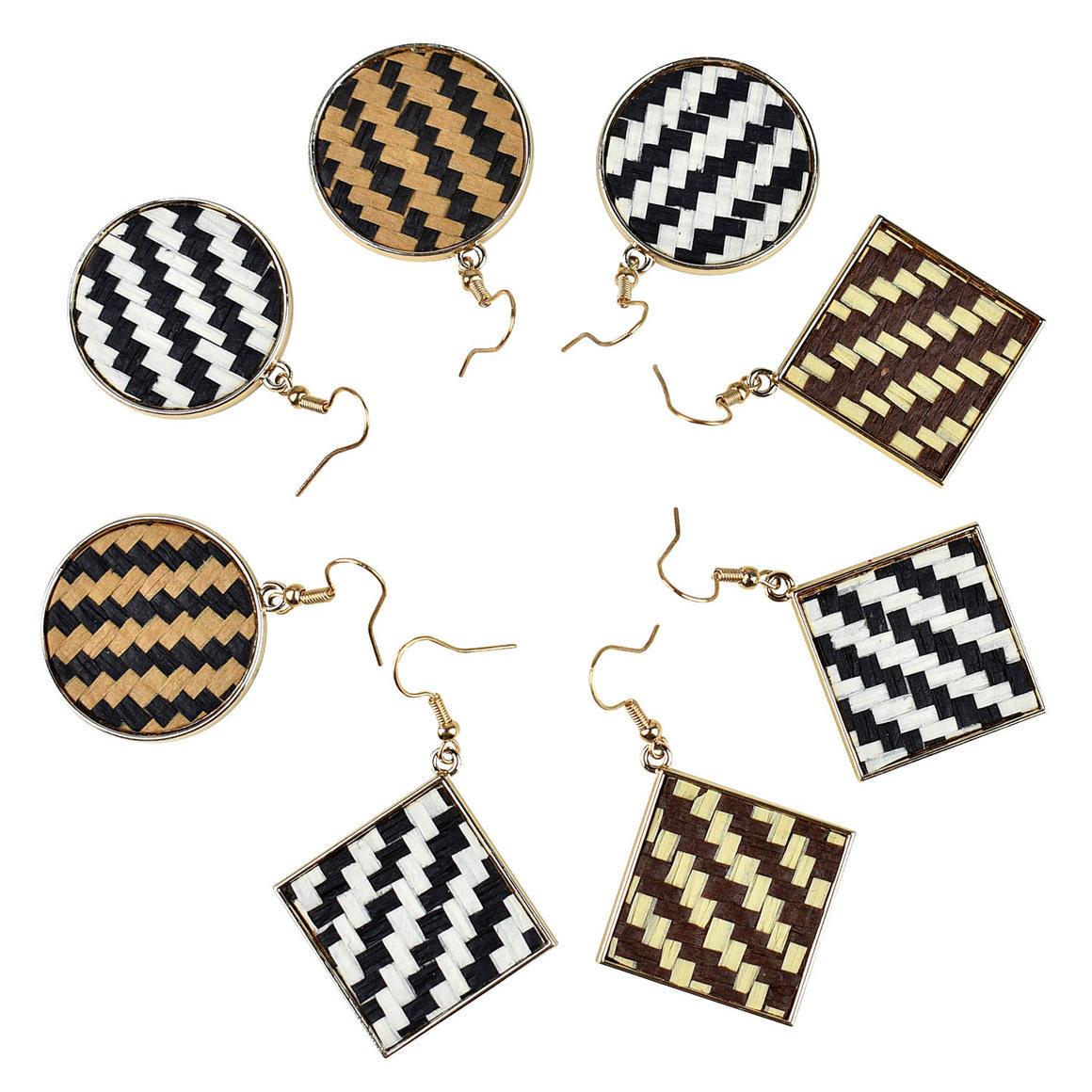 THSAP1334: Weaved Earrings (5pcs) Pack | Trada Marketplace