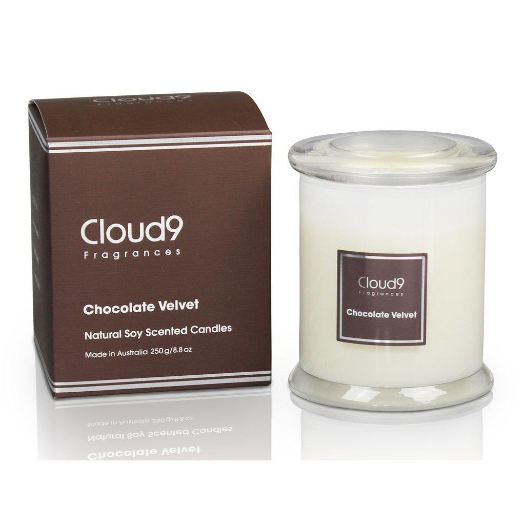 Chocolate Velvet Jar Candle | Trada Marketplace