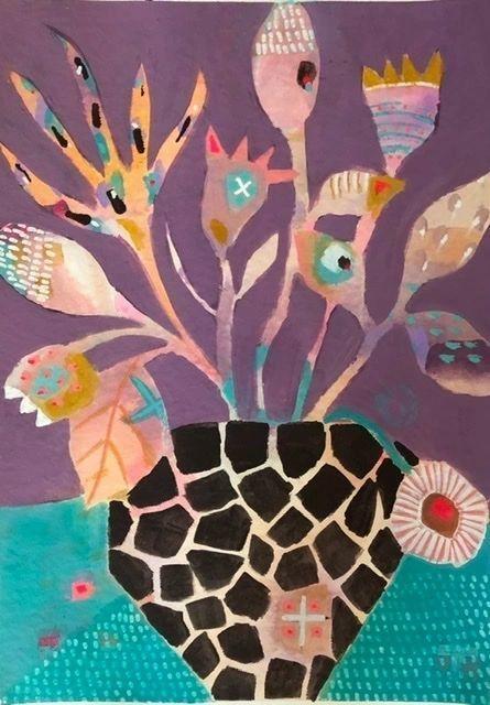 Giraffe Vase Prints | Trada Marketplace