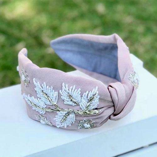 CLAIRE Headband Rose   Trada Marketplace