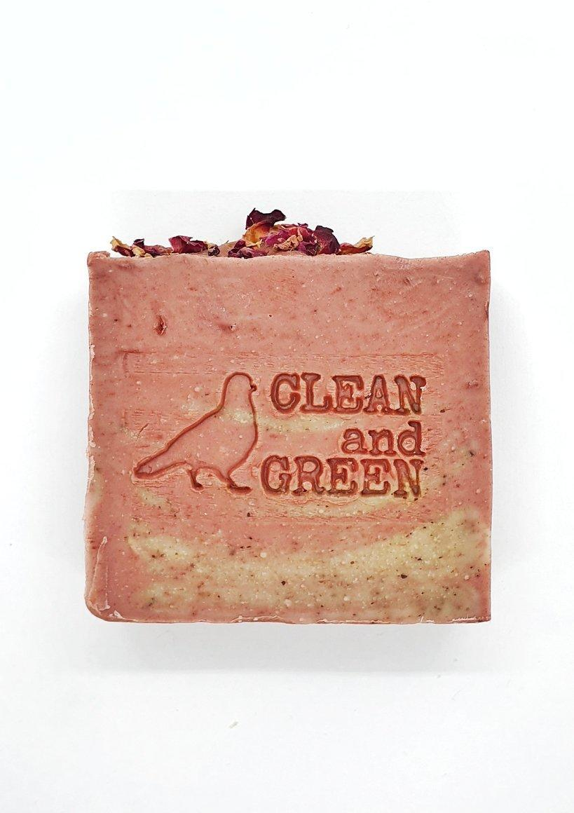 Pink Clay and Hibiscus Face Soap | Trada Marketplace