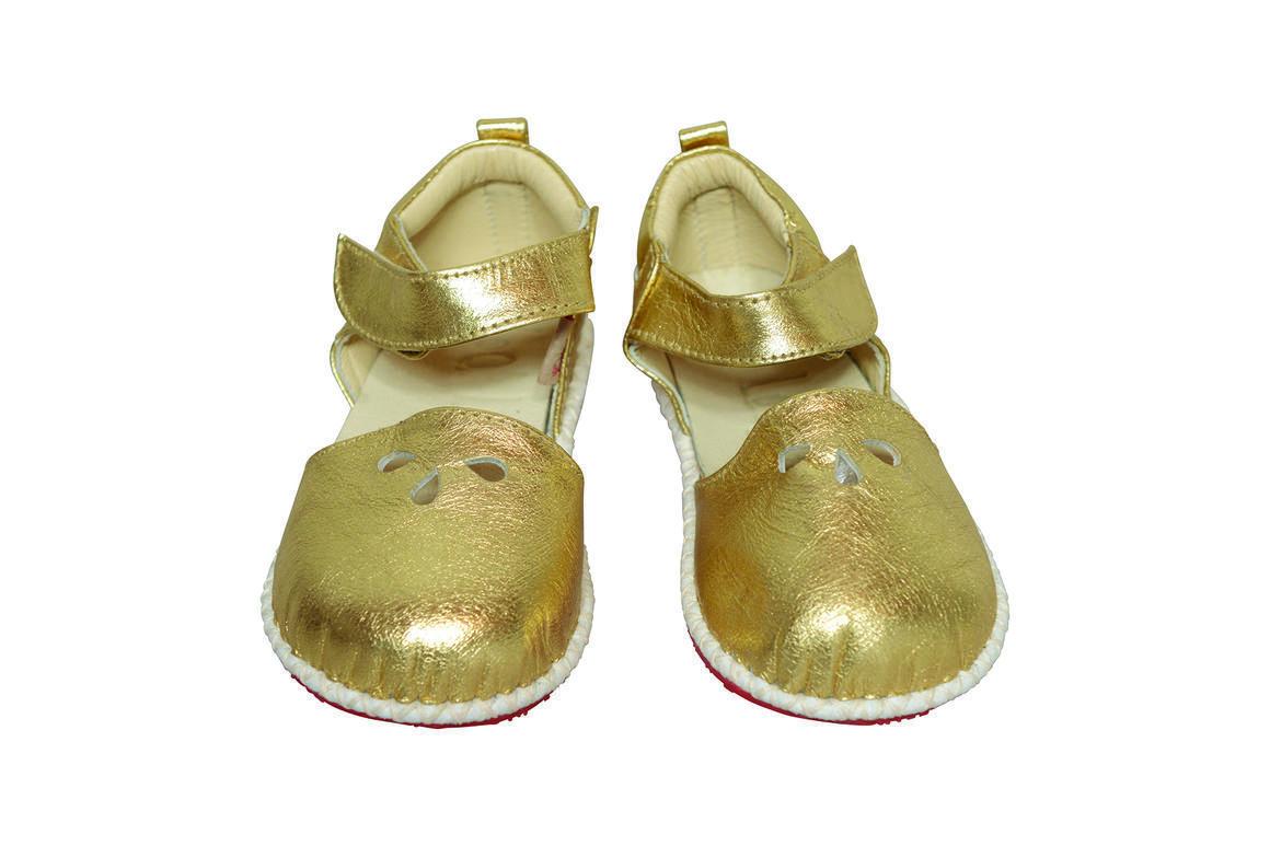 Cornish Tear Shoe gold   Trada Marketplace