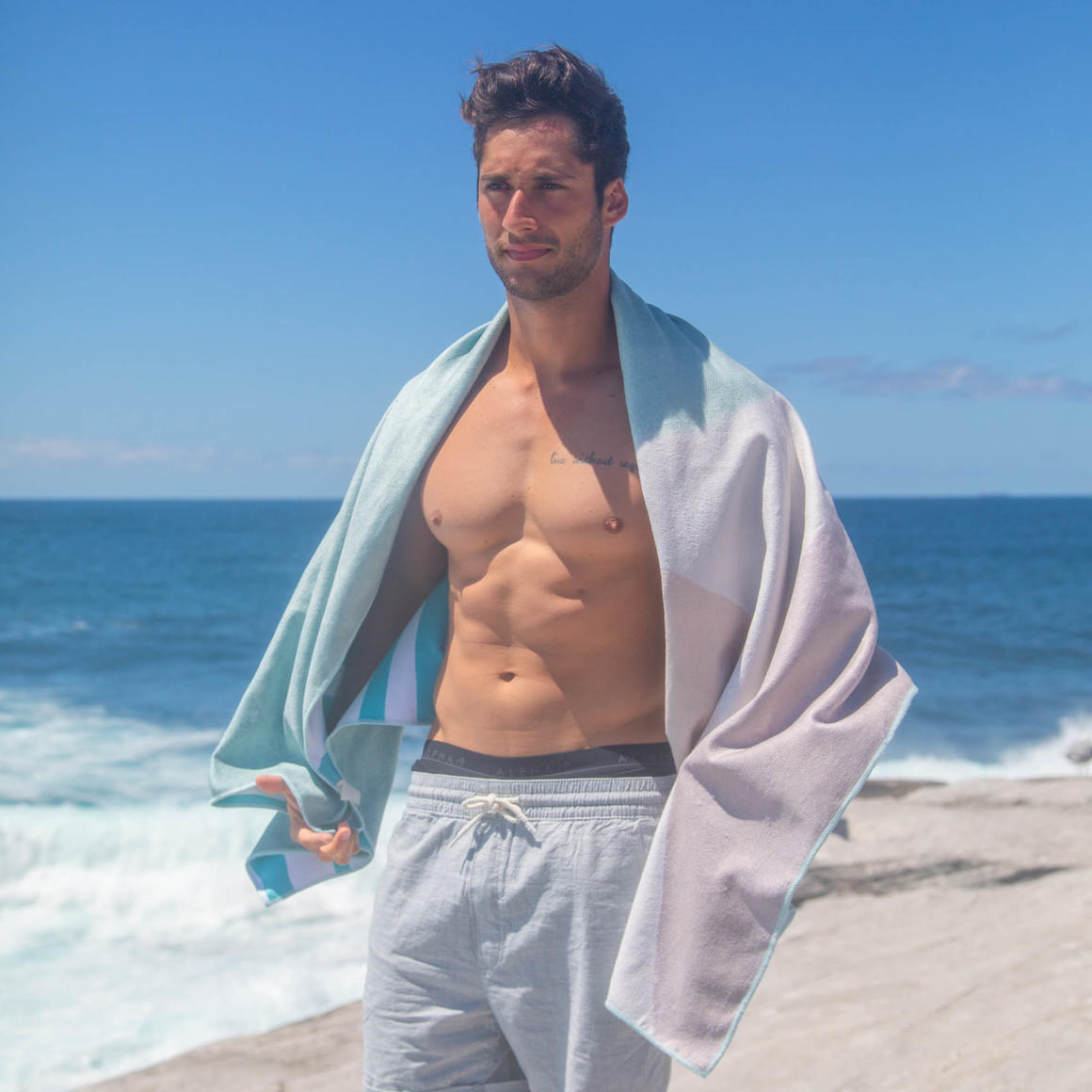 Sand Free Beach Towel - Earth Stone | Trada Marketplace