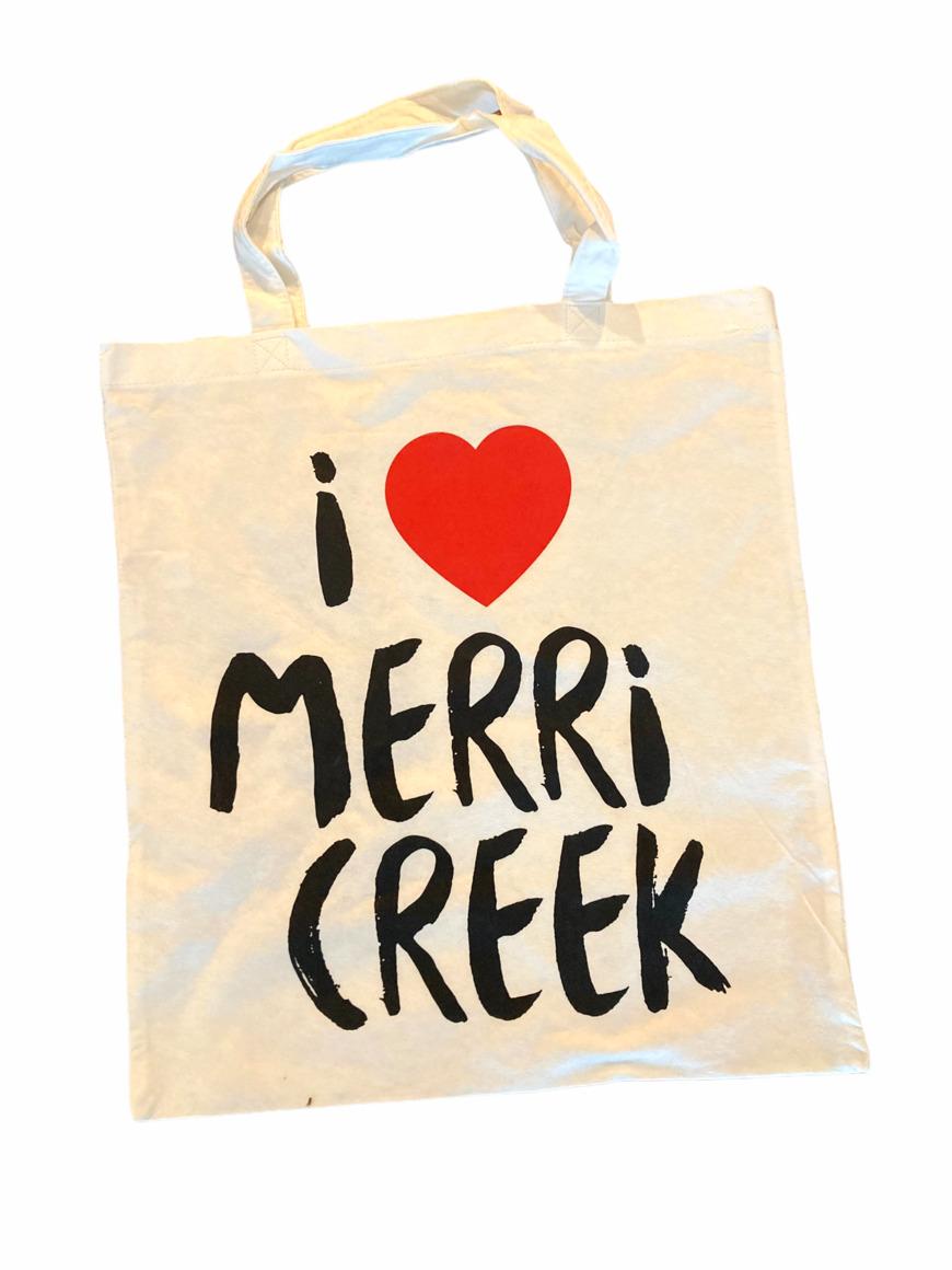 I Heart Merri Creek Bamboo Tote Bag   Trada Marketplace