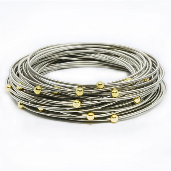 Gold Masai Bracelets - 40 Pack  | Trada Marketplace