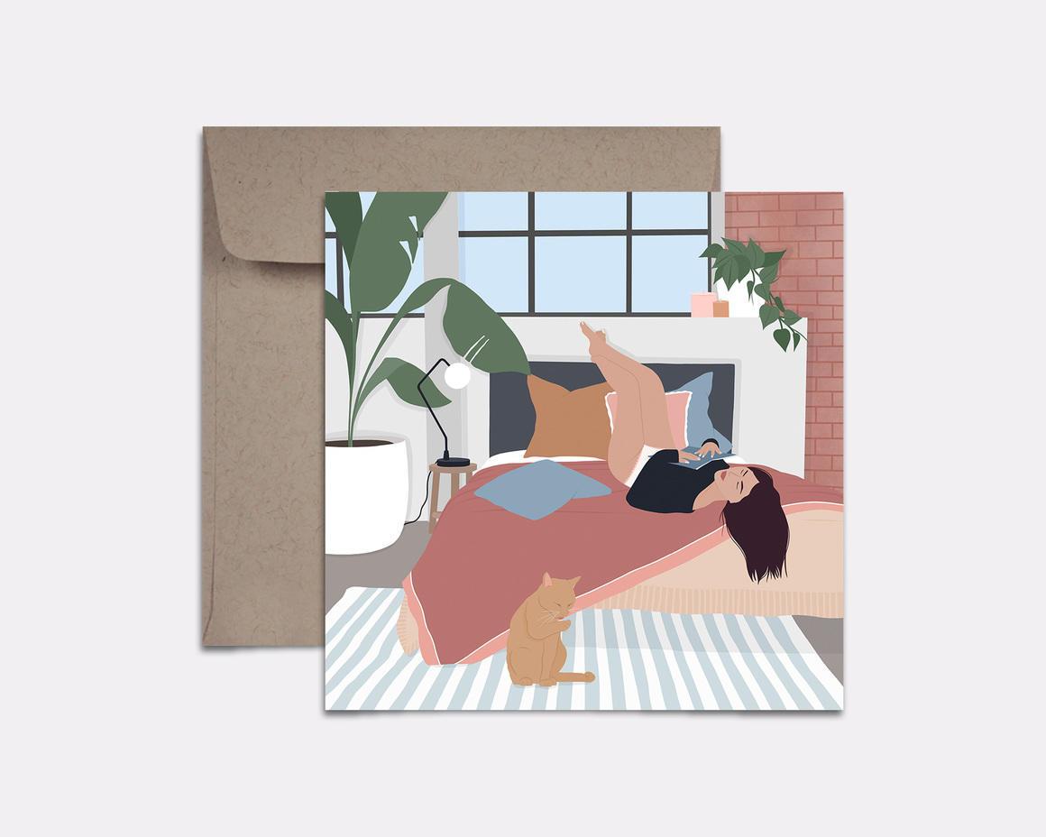 Daydreaming Card | Trada Marketplace