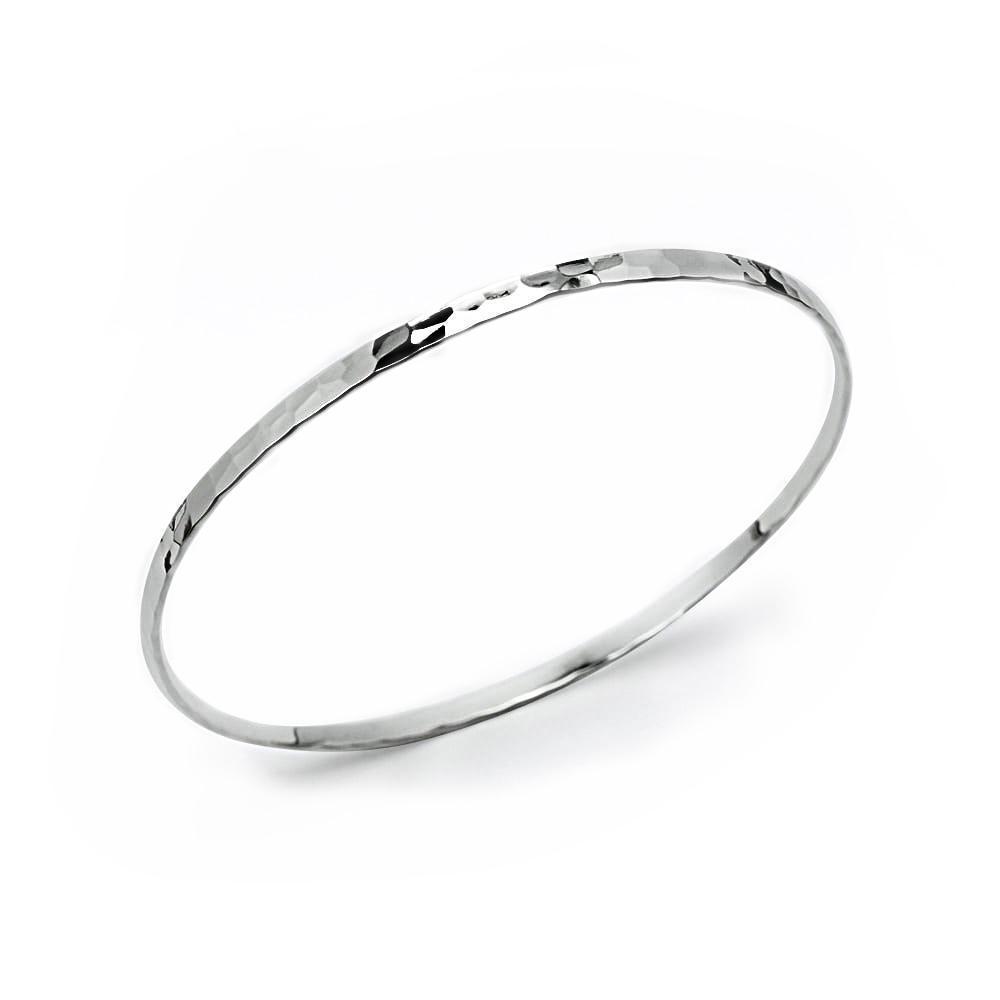 Hammered Thin Bracelet | Trada Marketplace
