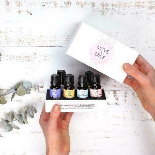 Pack of 6 Essential Oil Blends   Trada Marketplace