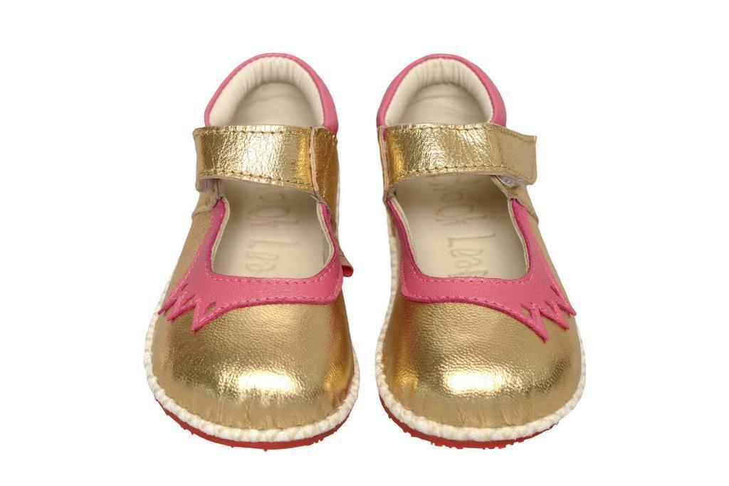 Crown Shoe gold/pink   Trada Marketplace
