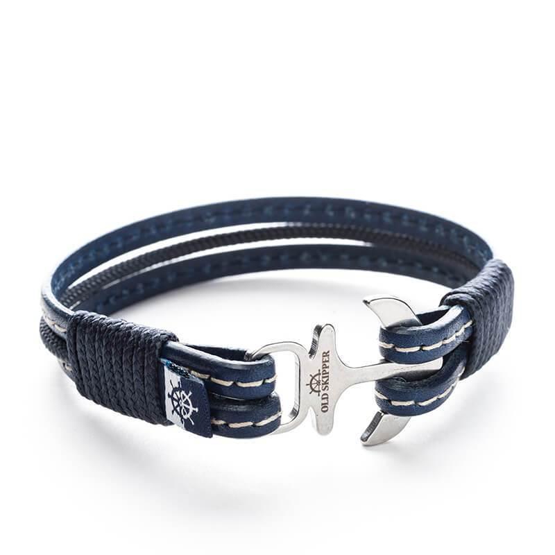 Baal - Nautical Leather Bracelet | Trada Marketplace
