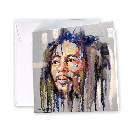 Bob Marley Greeting Card | Trada Marketplace