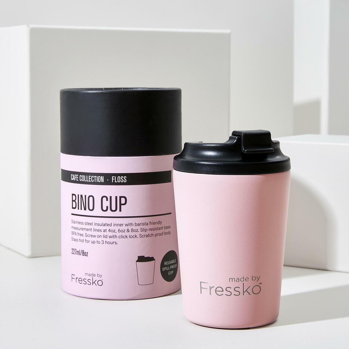 Fressko BINO 8oz Stainless Steel Reusable Cup PINK | Trada Marketplace