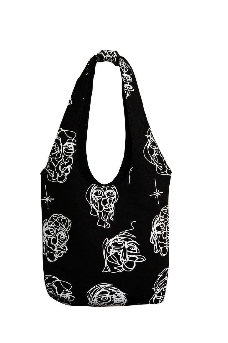 Knotted Bag - B & W Heads | Trada Marketplace