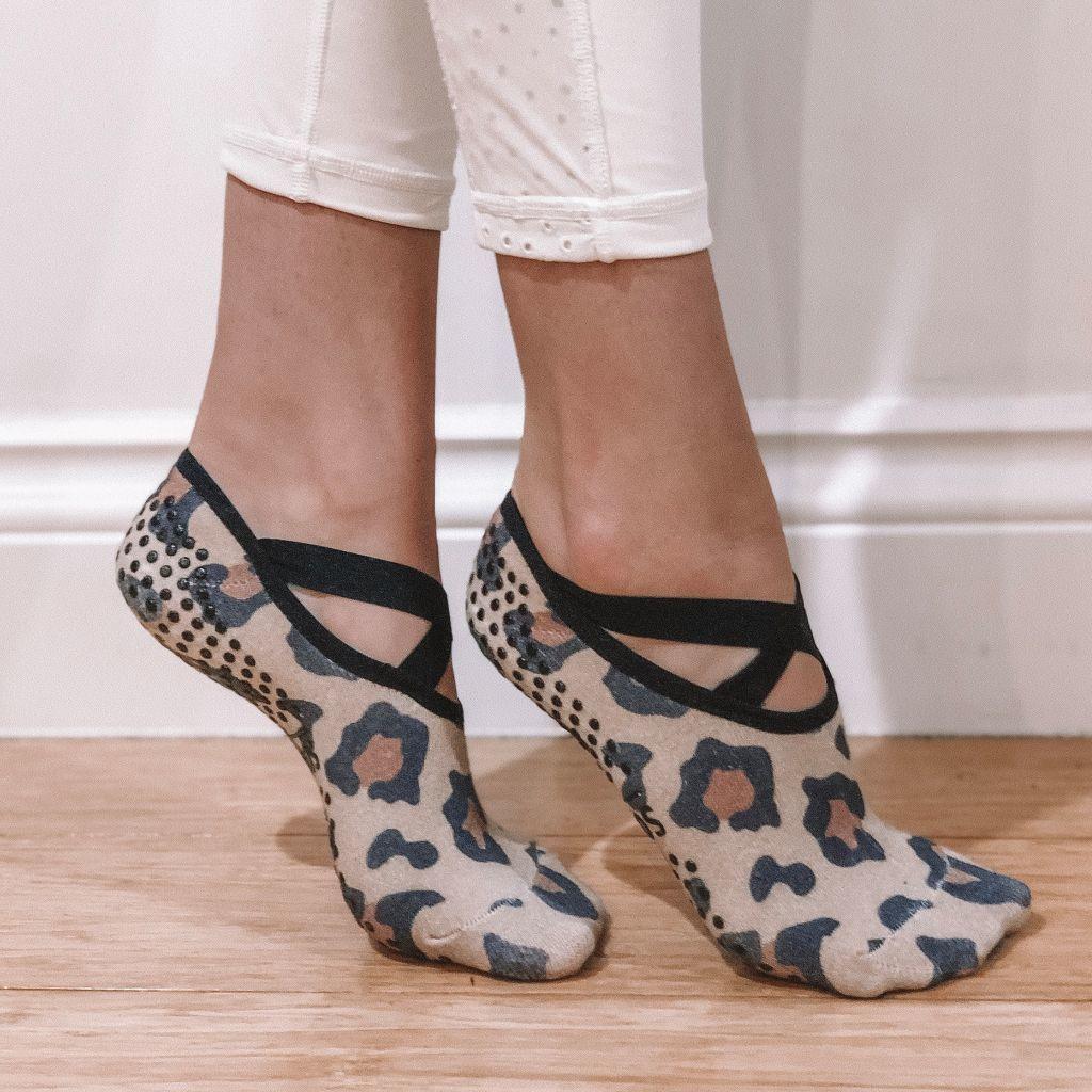 Wild at Heart Ballet Non-Slip Grip Socks | Trada Marketplace