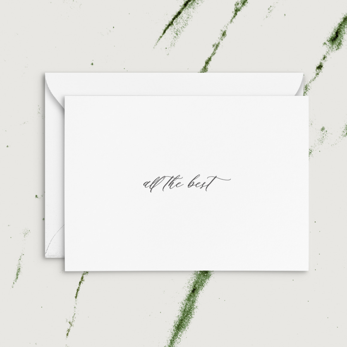 All The Best   Letterpress Greeting Card   Trada Marketplace