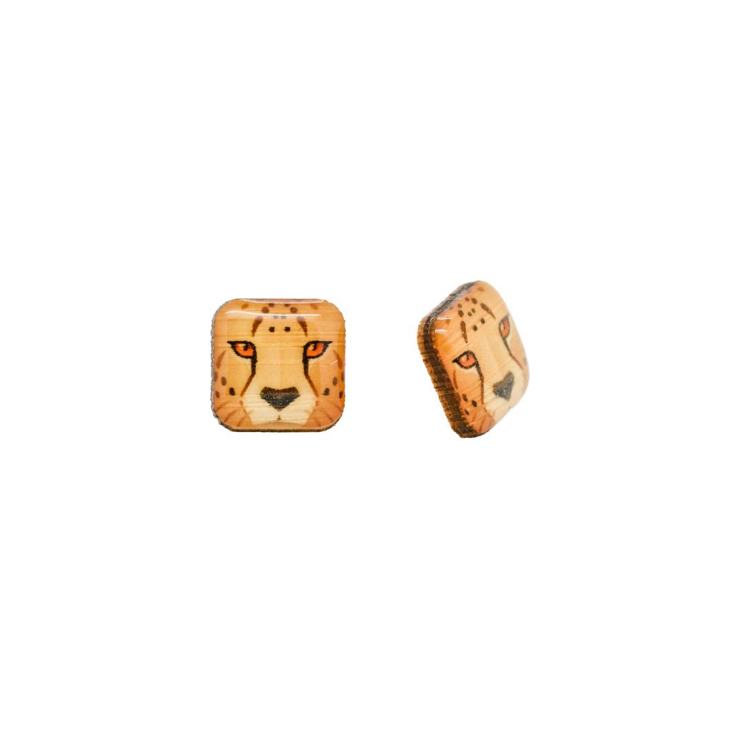 Cheetah Earrings   Trada Marketplace