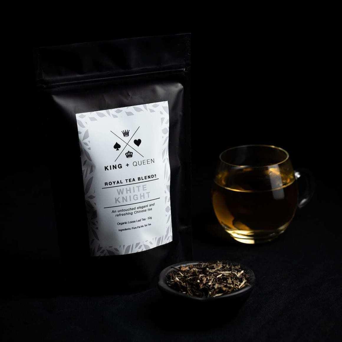 White Knight - Premium Organic White Tea   Trada Marketplace