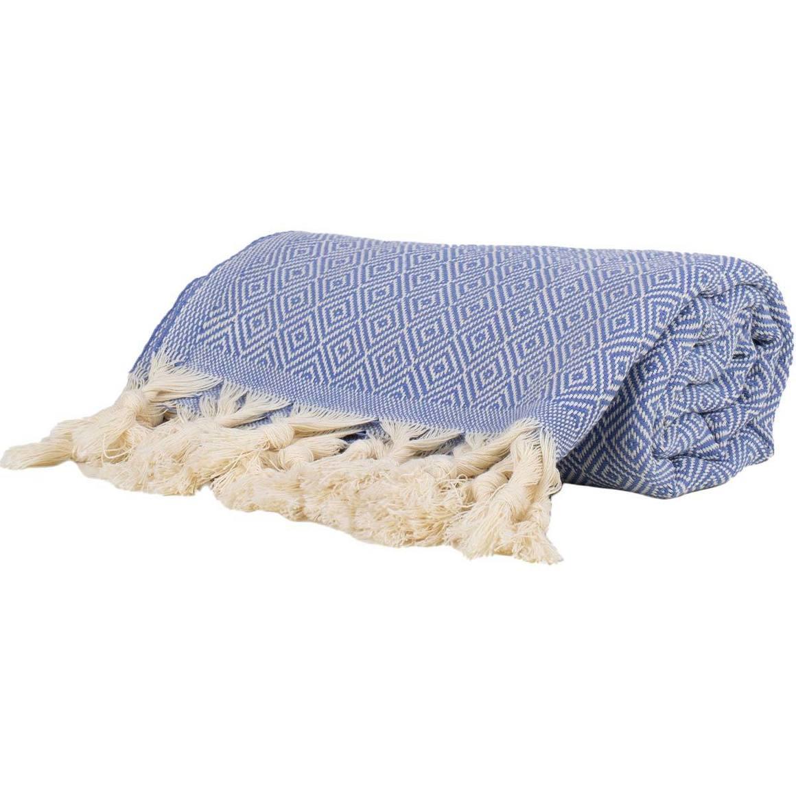 THICK TURKISH TOWELS BLUE | Trada Marketplace