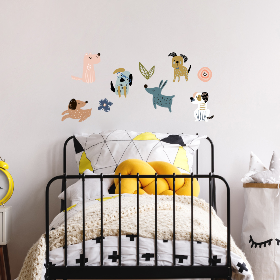Fabric wall decals - Dogs   Trada Marketplace