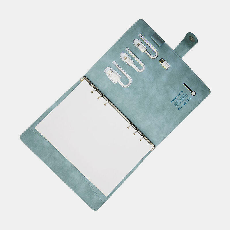 PowerBank Notebook - Grey Blue | Trada Marketplace