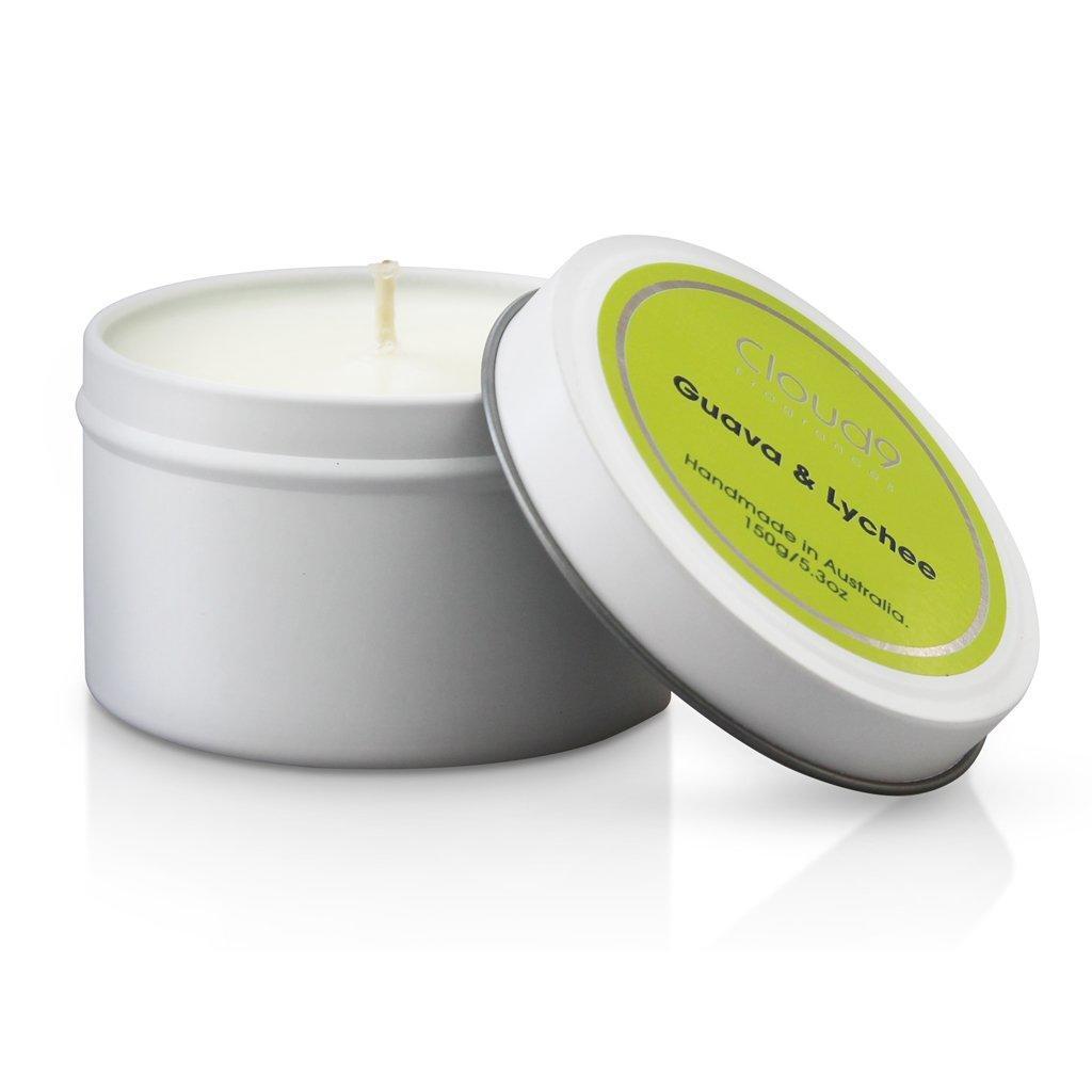 Guava & Lychee Tin Candle | Trada Marketplace