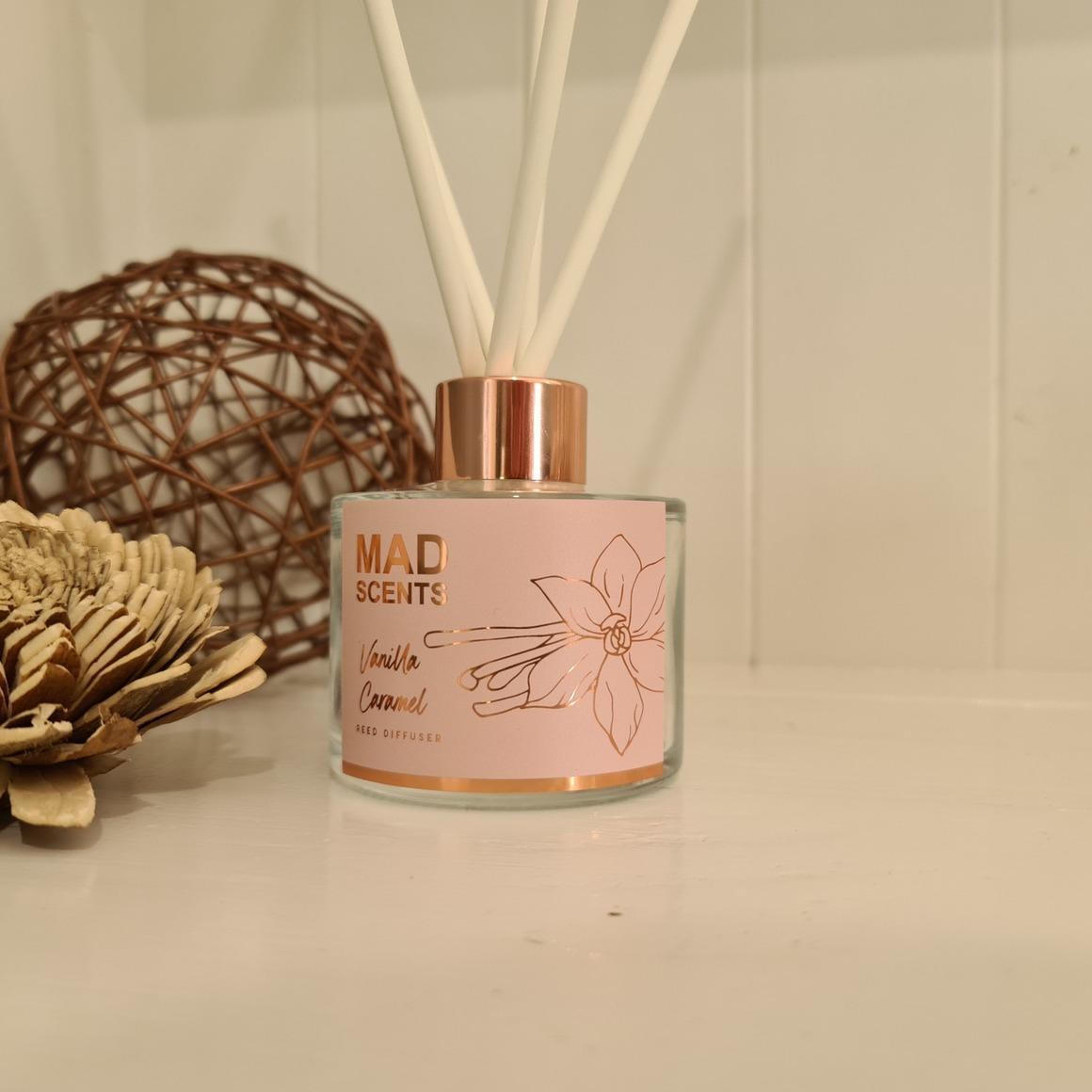 Vanilla Caramel reed diffuser | Trada Marketplace