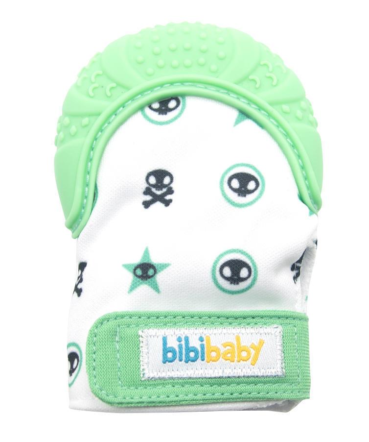 BibiBaby Teething Mitts - Mint   Trada Marketplace