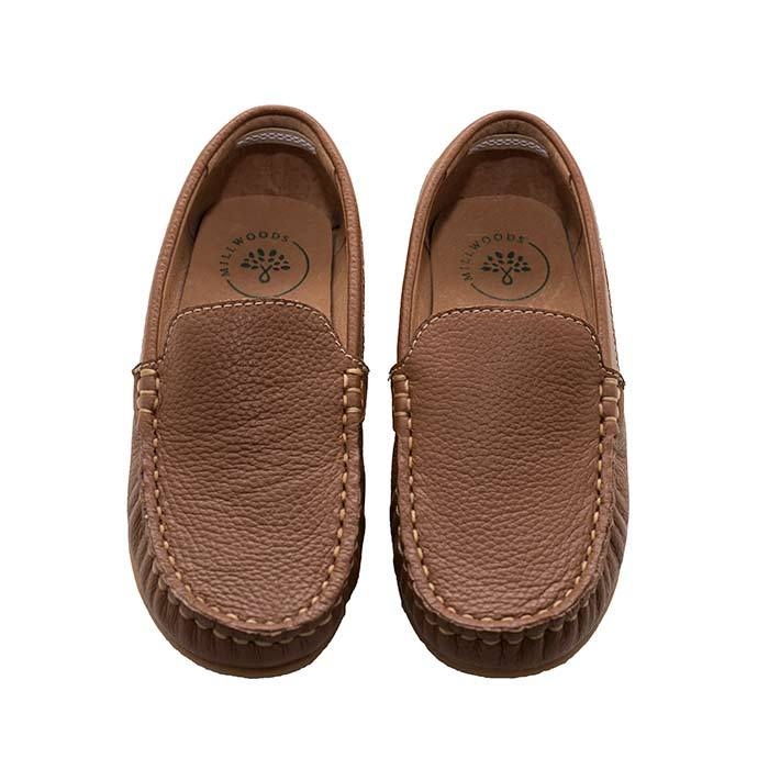 Tan Leather Loafer - Children | Trada Marketplace