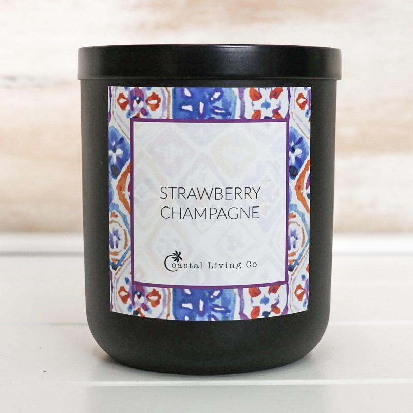 Strawberry Champagne 280g Standard Black | Trada Marketplace