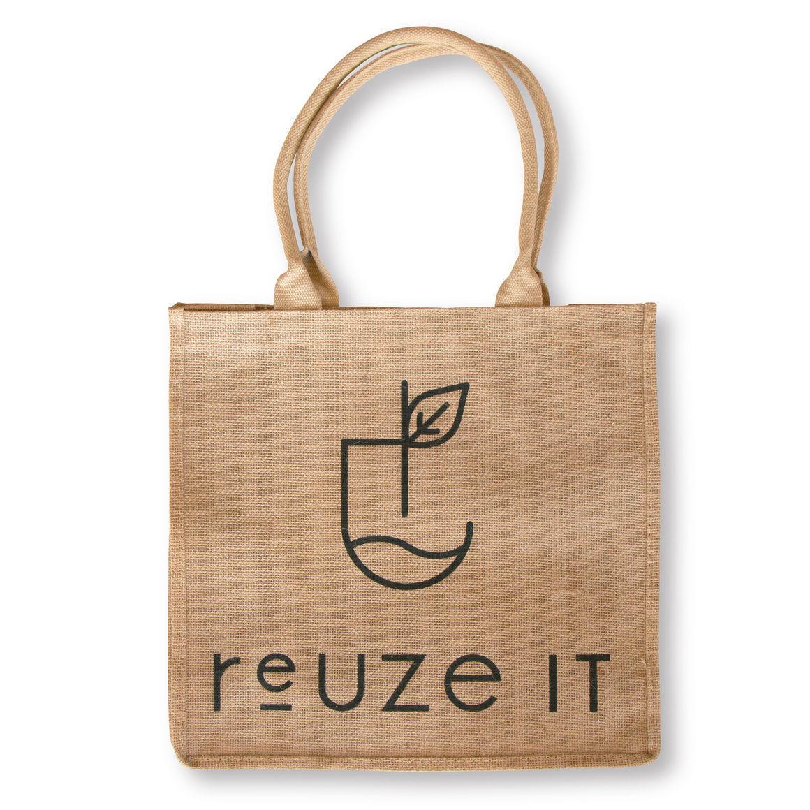 Jute Shopping Bag   Trada Marketplace