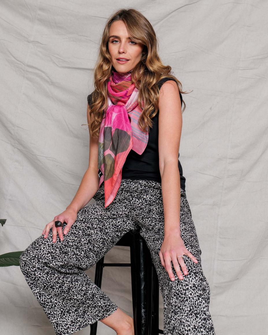 Silk-cotton scarf | NISUS | Trada Marketplace