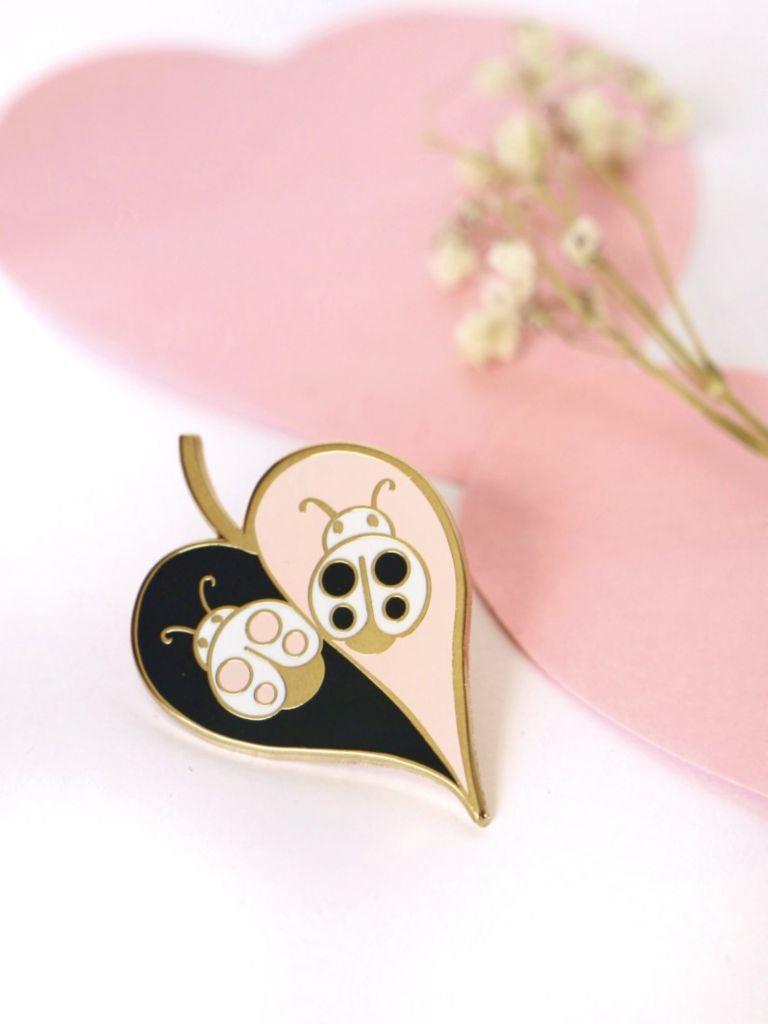 Ladybugs in Love Pin | Trada Marketplace