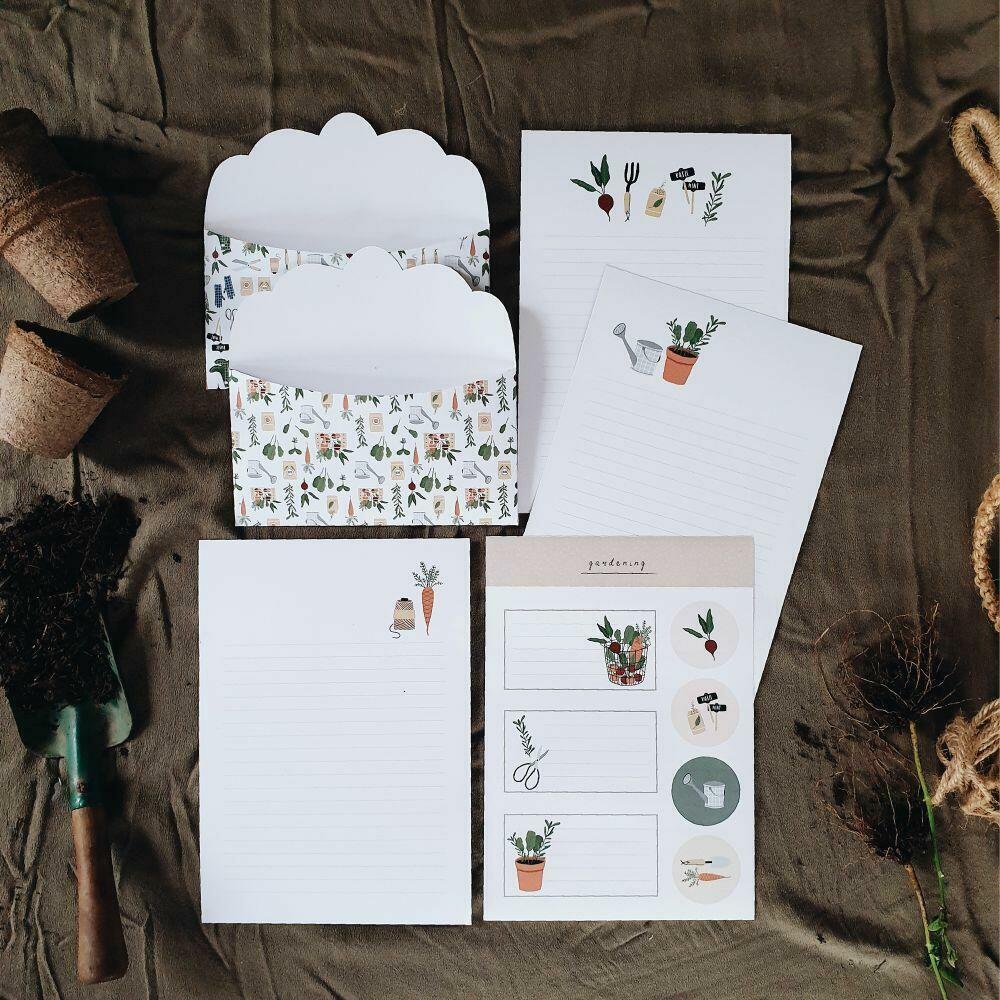 Gardening Letter Writing Set   Trada Marketplace