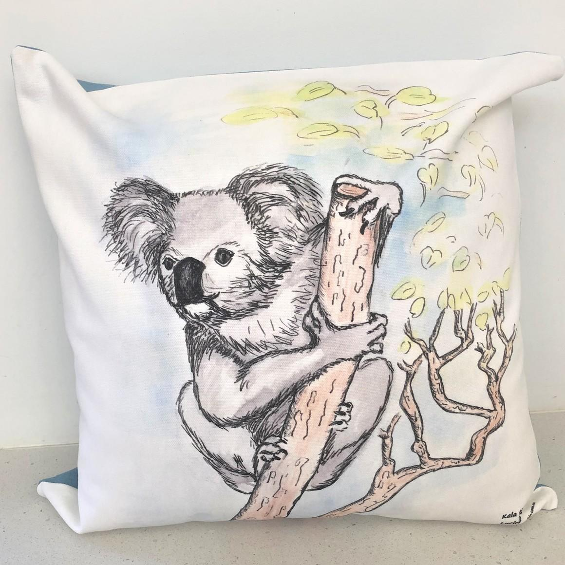 Cushion Cover - Kala the Koala   Trada Marketplace