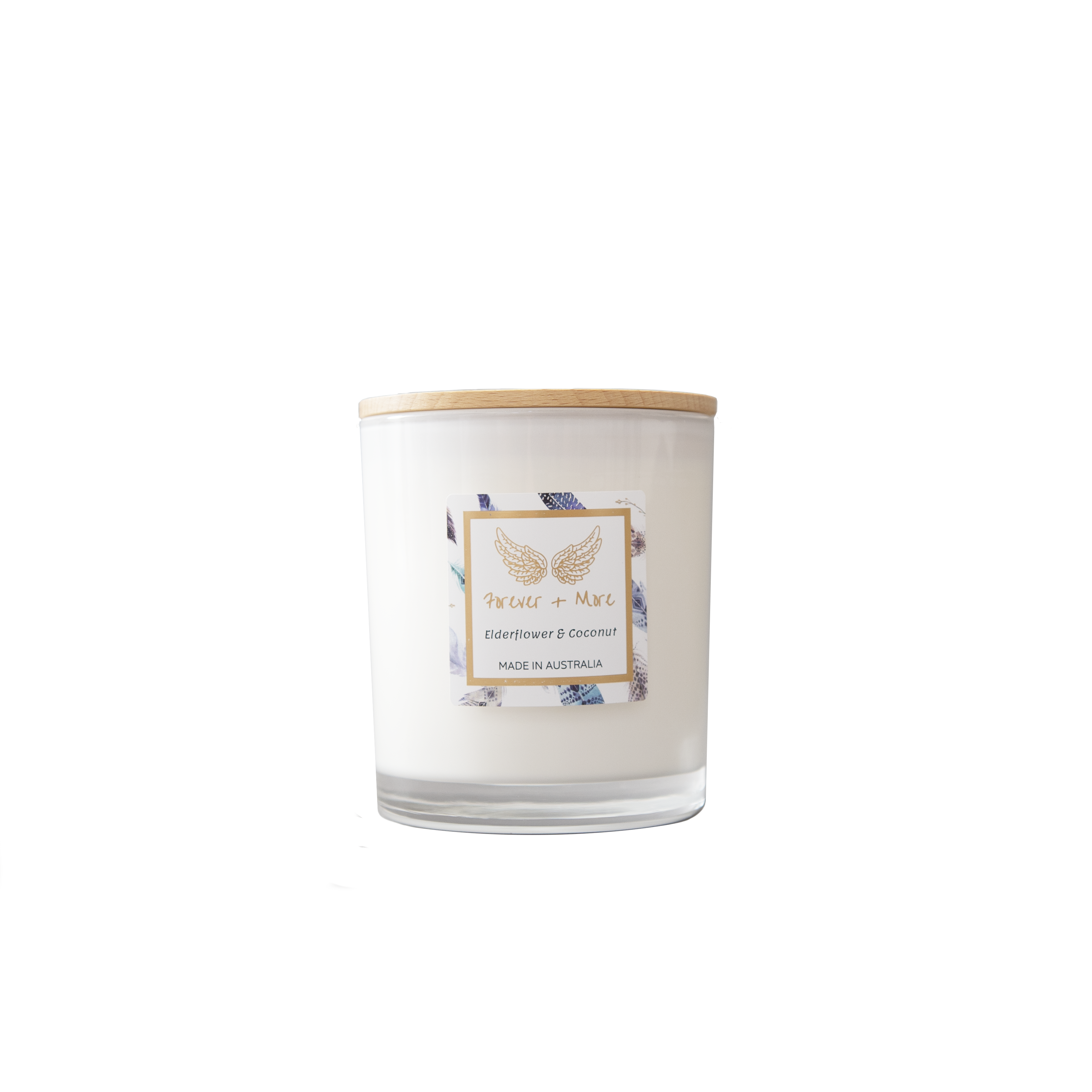 Large Soy Candle - Elderflower and Coconut | Trada Marketplace