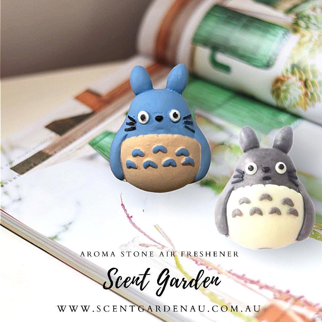 Aroma Stone Car Air Freshener ( Grey Totoro ) | Trada Marketplace