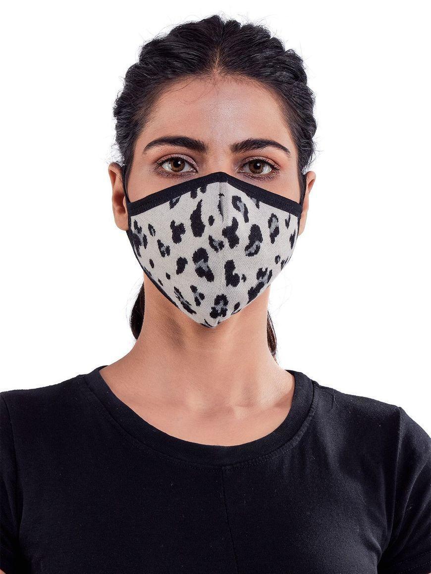 Animal-print-three-layer-cotton-womens-mask | Trada Marketplace
