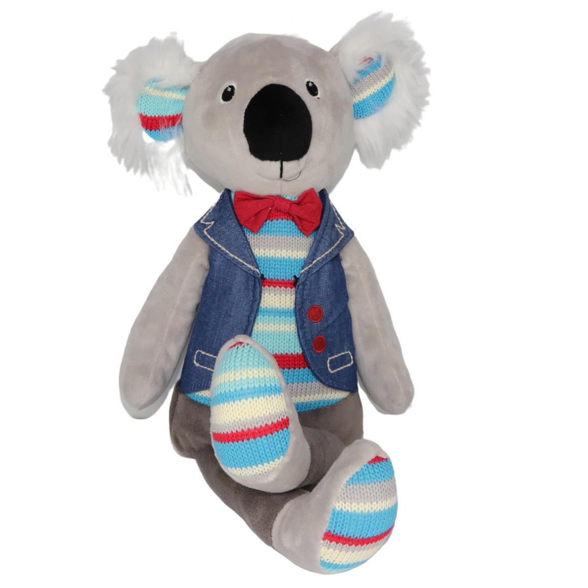 Plush Toy Koala - Blue/Bowtie/Jacket    Trada Marketplace