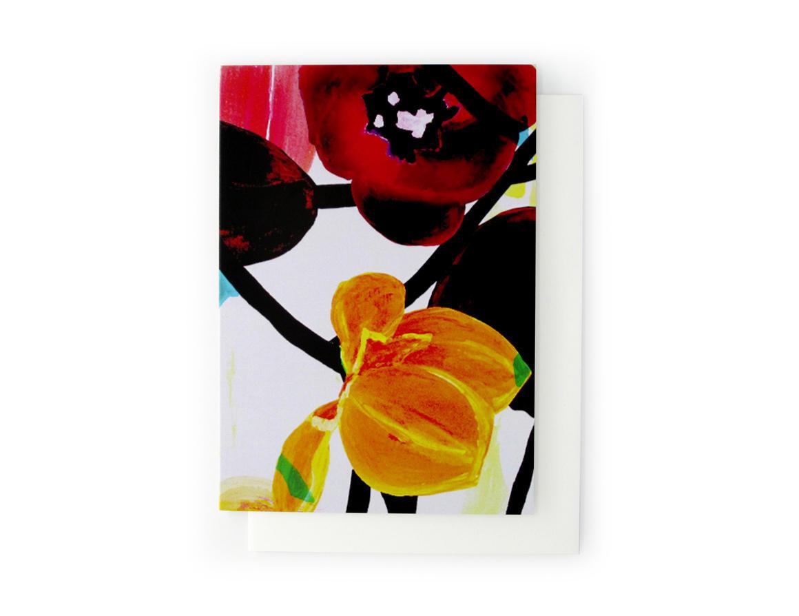 CRÈME CARAMEL Artisan Greeting Card | Trada Marketplace