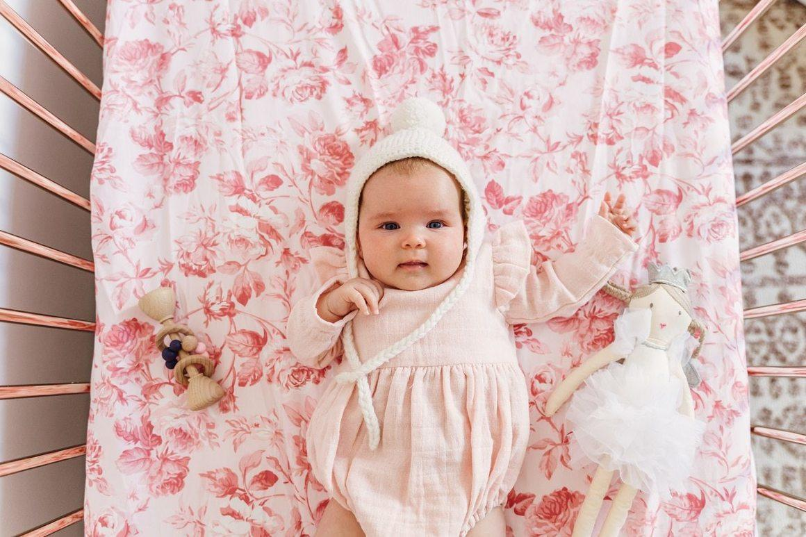 Couture Fitted Sheet in Blowsy Pink | Trada Marketplace