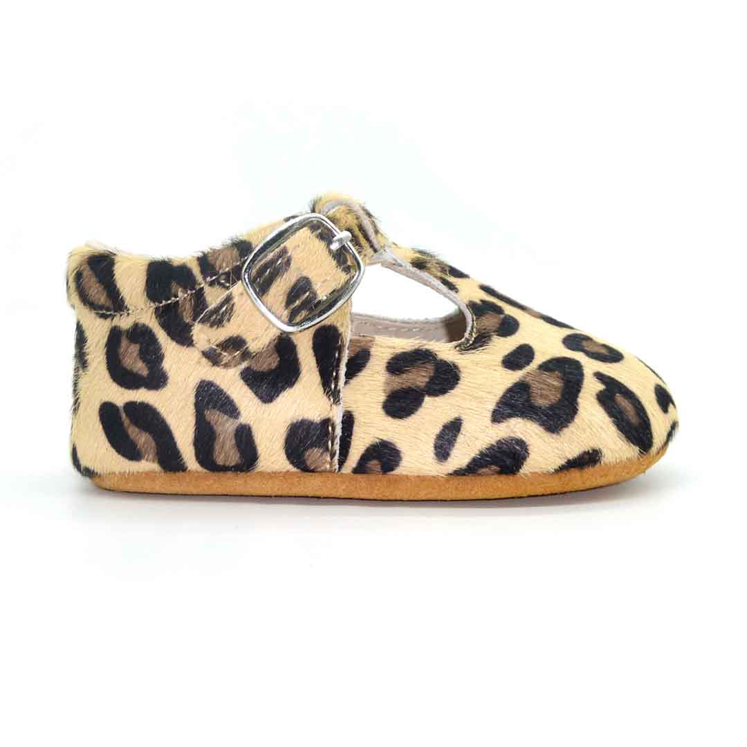 Milly Baby T-Bar Leopard | Trada Marketplace