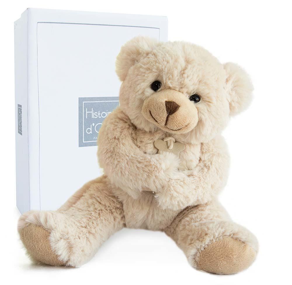 beige bear 35 cm + gift box   Trada Marketplace
