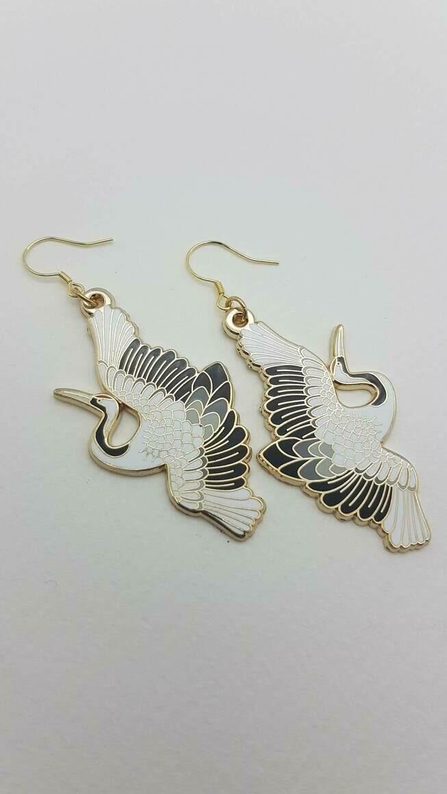 Crane Earrings | Trada Marketplace