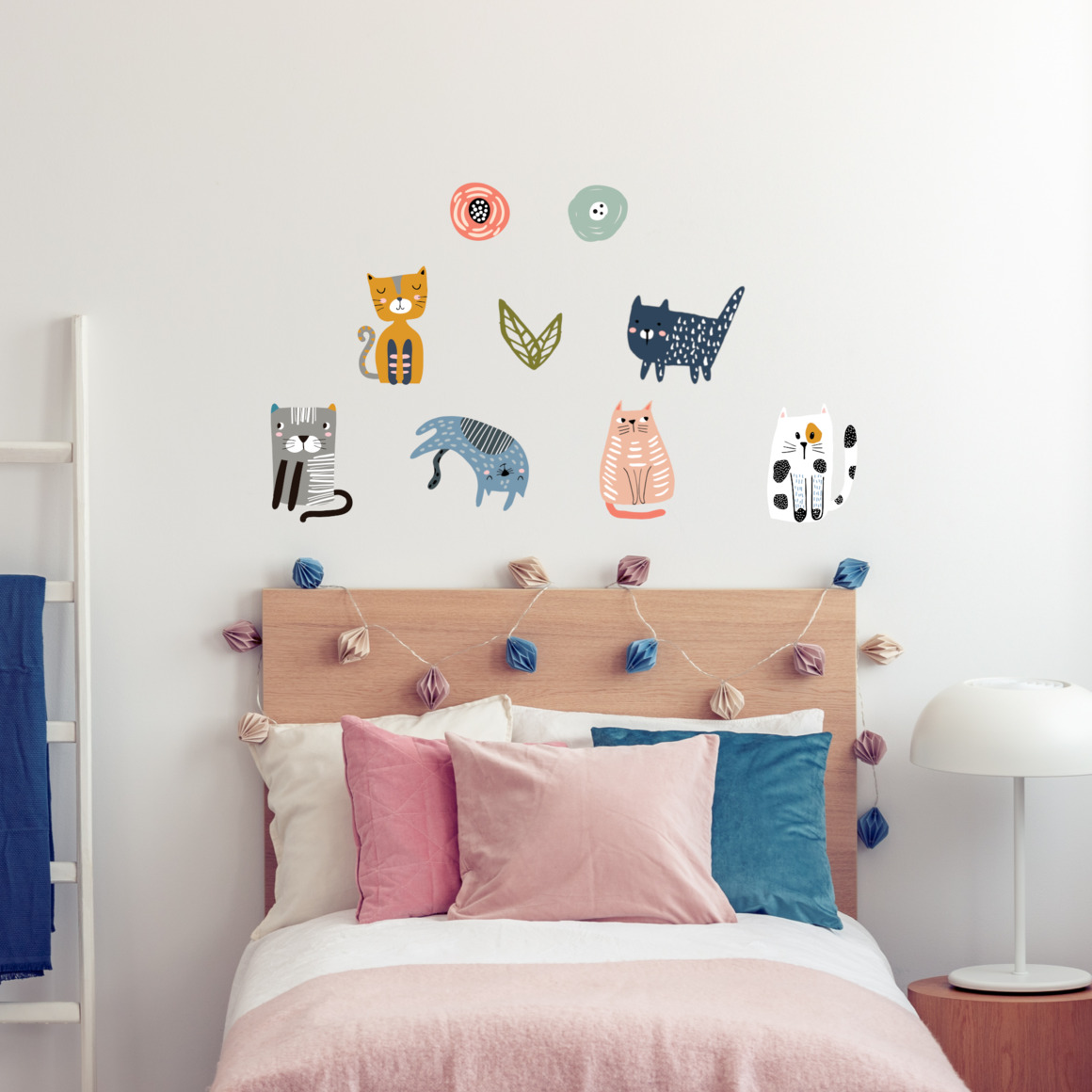 Fabric wall decals - Cats   Trada Marketplace