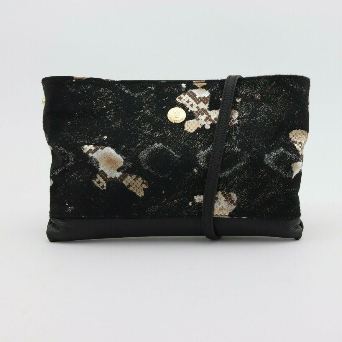 BROOKE BLACK COWHIDE | Trada Marketplace