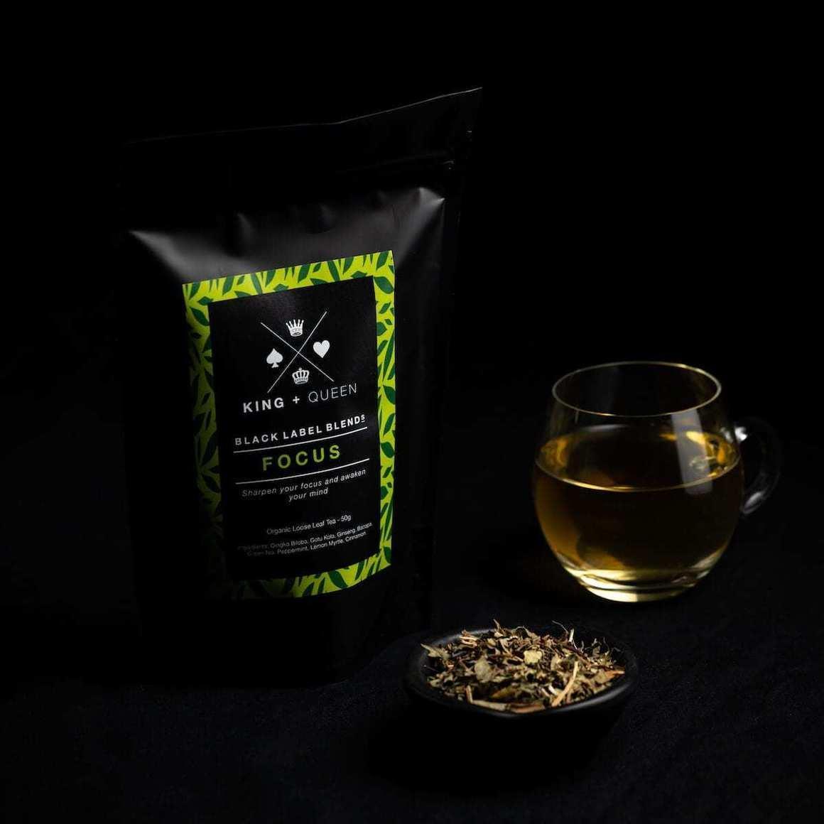 Focus - Premium Nootropic Herbal Tea Blend   Trada Marketplace