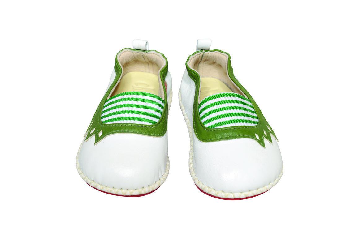 Spanish Stripe white/green   Trada Marketplace